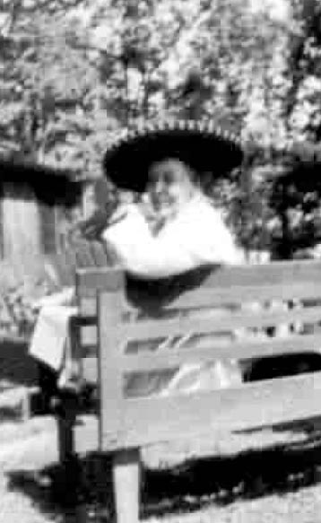 Anne S. in 1946 at the A.A. Founders Day at Kare Phree Pines, Minnesota.