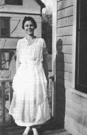 Lois W. in Wedding Dress