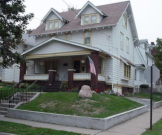 Bob and Anne's home at 855 Ardmore Avenue in Akron, Ohio.